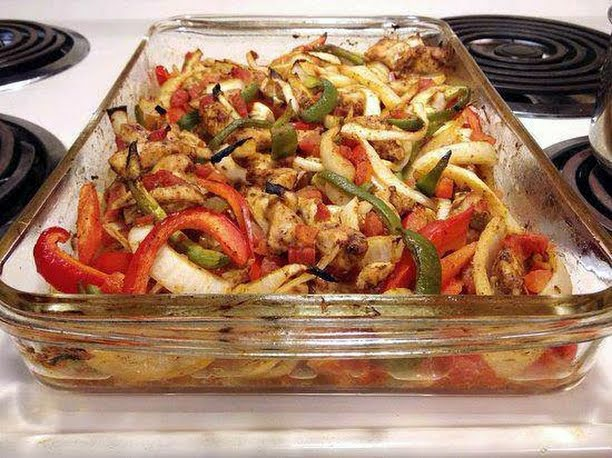 Recipe for Baked Chicken Fajitas – Heart Healthy